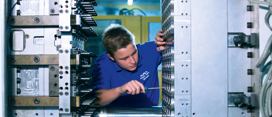 Werkzeugmechaniker/in bei ALPLA